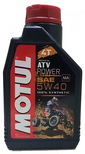 Масло моторное MOTUL ATV POWER 4Т 5w40 1л