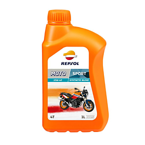 Масло мот Repsol Sport 10W40 4T Syntetic Biend 1л